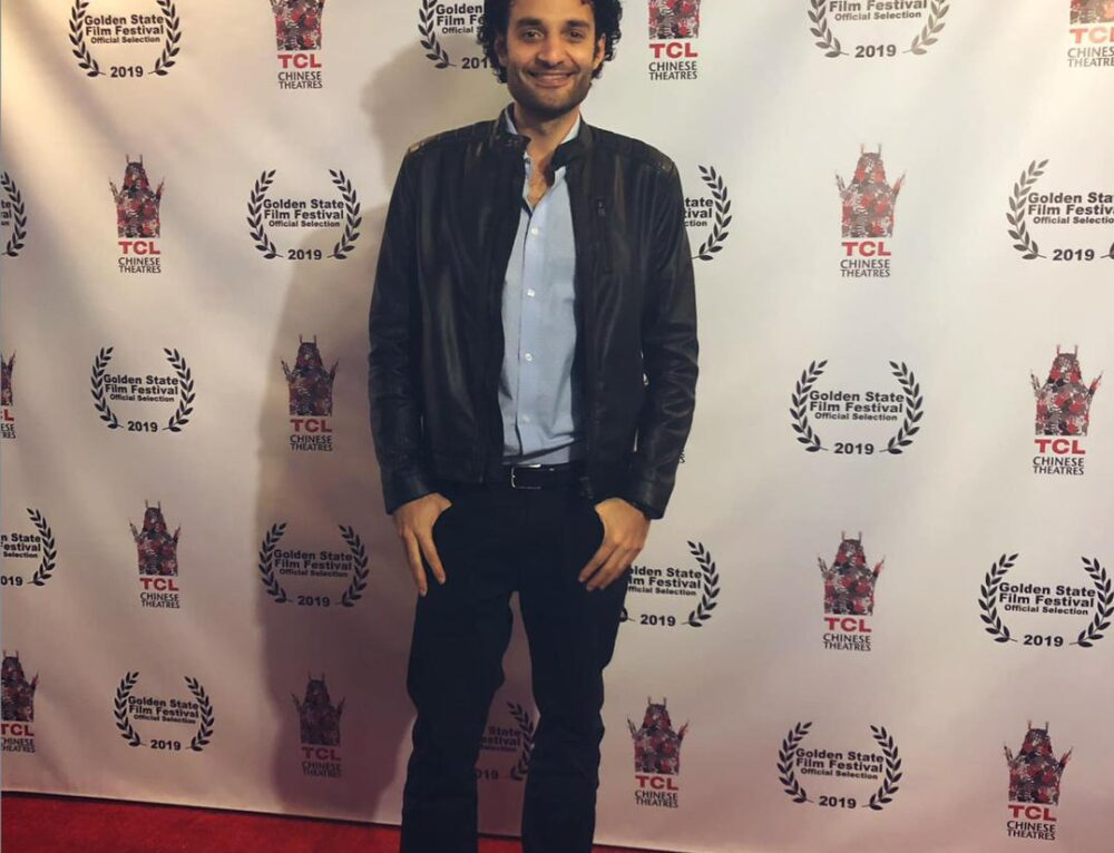 Omar El Gamal appears in the Golden State film festival in Hollywood