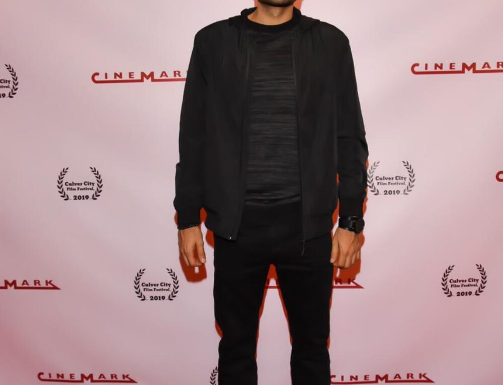 Omar El Gamal appears at the Culver City film festival in California